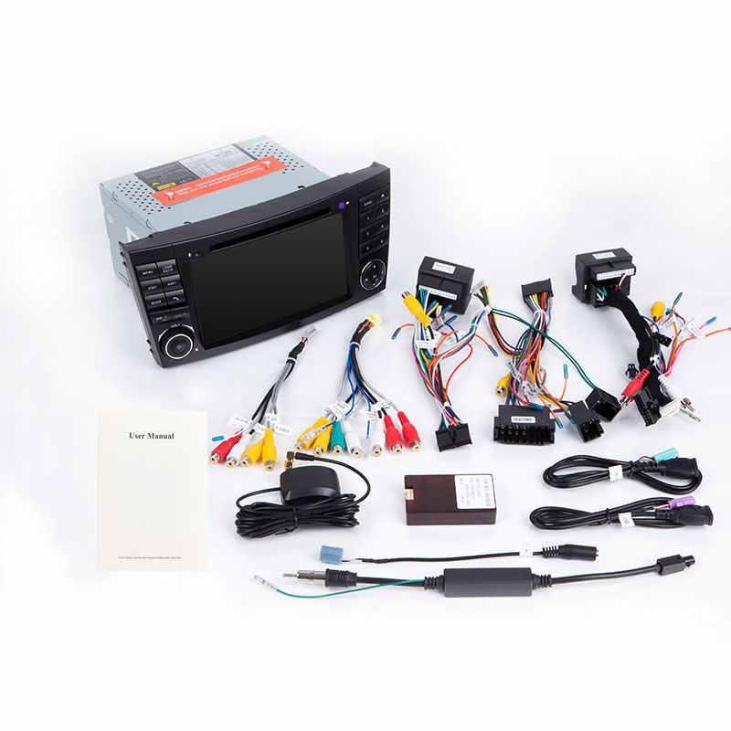 2 Din Dvd プレーヤー W211 E320 W219 W463 CLS350 CLS500 CLS55 E200 E220 E240 E350 ラジオ Multimeida GPS ナビゲーション