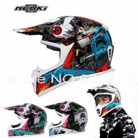 2016 New NENKI MX316 knight off road Motorcycle helmet Motor racing helmet Ultralight fiberglass motorbike helmets 3 Colors