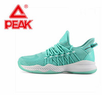 Peak new men's basketball shoes low to help light package boots wear resistant real shoes sneakers original wholesale,