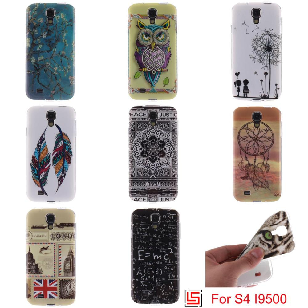 Ultra Thin TPU Silicone Soft Phone Mobile Case coque capa kryty Cover Bag Cove For Samsung Sansung Galaxy S4 S IV GT I9502