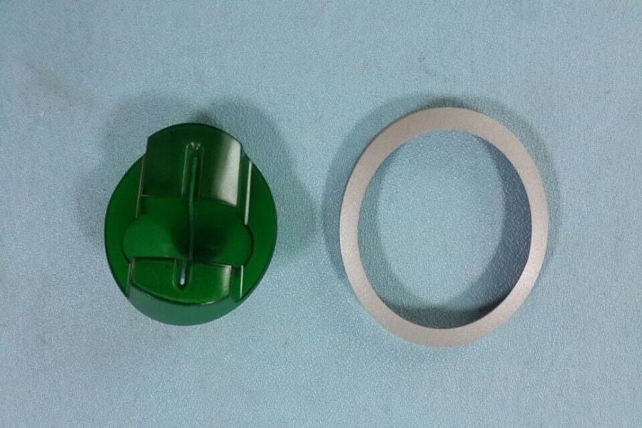 2019 New Game Shell NCR ATM Bezel NCR Model Circle Frame with Green Piece ATM Parts