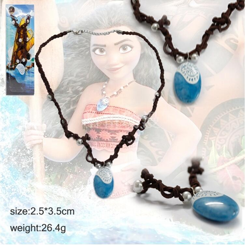 New Anime Moana Necklace Key Ring toys Movie Moana Maui Figures Action Toy high quality kids toys Gift 48pcs lot action figures toy stikeez sucker kids silicon toys minifigures capsule children gift