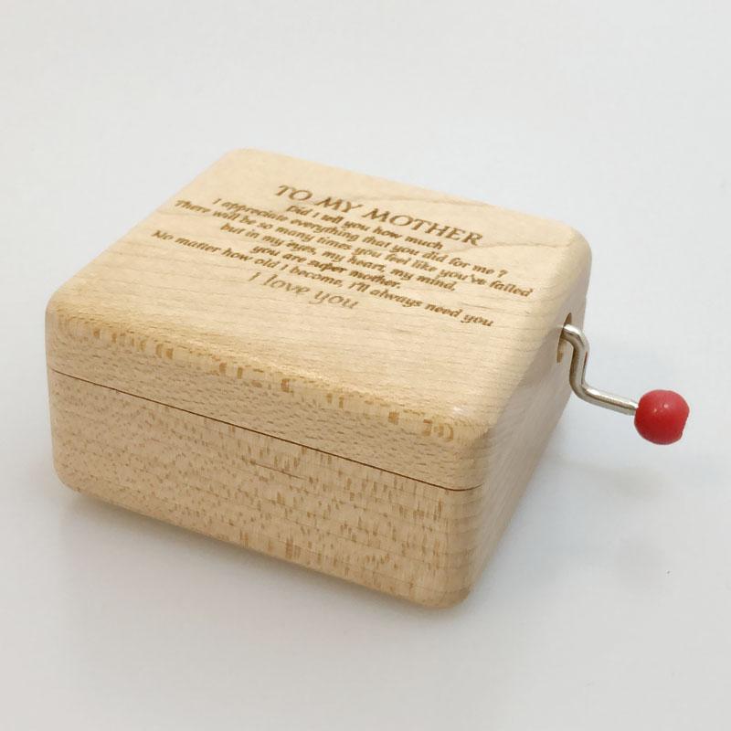 HANDMADE ITEM LOVE STORY UNIQUE GUITAR Wood Jewelry Music Box