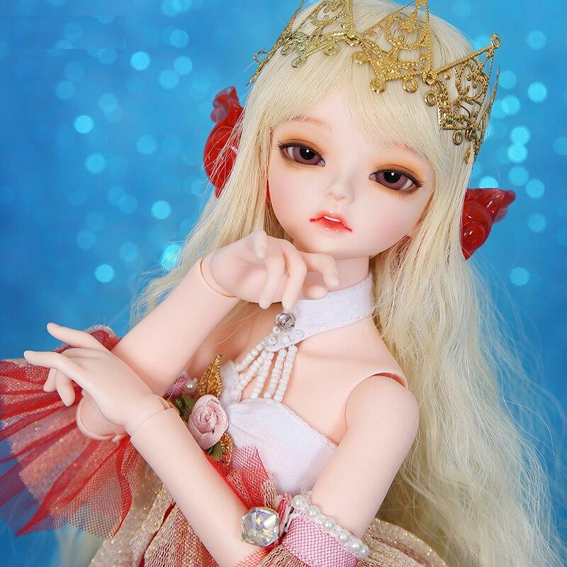 Serin, 1/4 BJD SD lalki żywica Model ciała dziewczyny chłopcy oczu wysokiej jakości zabawki dla dziewczynek urodziny Xmas najlepsze prezenty w Lalki od Zabawki i hobby na  Grupa 1
