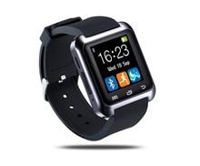 Digital-uhr Drahtlose Bluetooth Smart Uhr U8 Sport Pedometer Erinnerung Freisprecheinrichtung Smartwatch U80 Handgelenk Band für Android-Handy