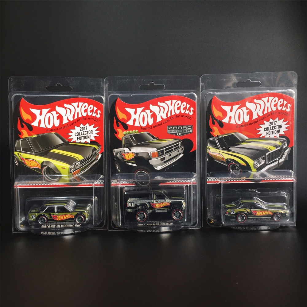 Hot Wheels 1:64 Car 2017 Collector Edition 50th Anniversary Metal Diecast Cars Collection Kids Toys Vehicle For Gift