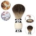 Good Quality Brand Resin Handle Shaving Shave Brush Black Badger Hair Barber Salon Tool BG Man Jan17