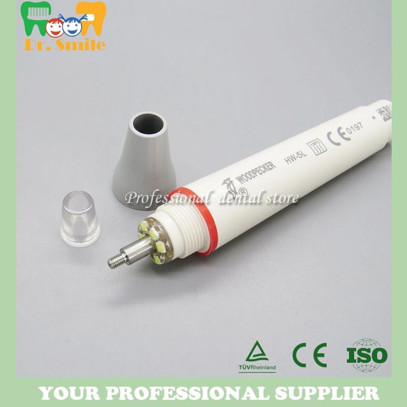 Купить с кэшбэком Fiber Optic Detachable scaler Handle for Woodpecker UDS LED Scaler handle HW-5L Original