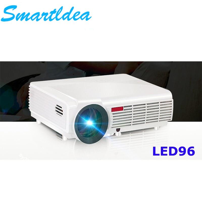 SmartIdea 5500lumens Full HD LED 3D Home Cinema Projector 1280×800 1080P LCD Digital Video HDMI Proyector TV Beamer