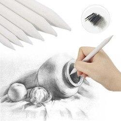 6 teile/satz Durable Kunst Zeichnung Werkzeug Stumpf Skizze Pastell Blending Wisch Tortillon Reis Papier Geschenke Party Favors
