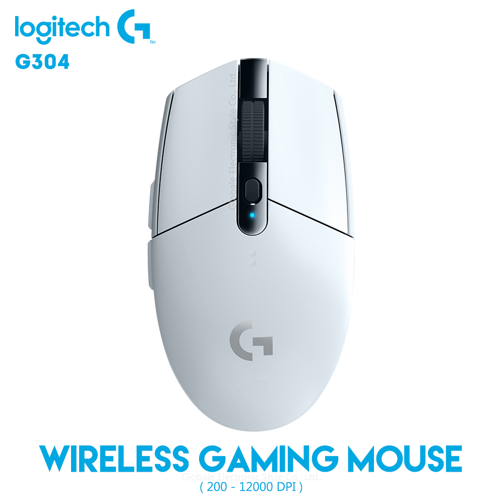Souris sans fil originale Logitech G304 LIGHTSPEED Gaming 12000 DPI réglable 2.4 GHz ordinateur USB Gamer 6 boutons programmables