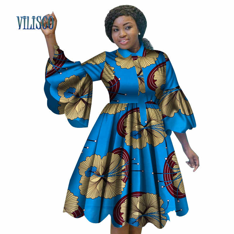 African Women Fashion: Fashion African Print Dresses For Women Bazin Riche Lovely