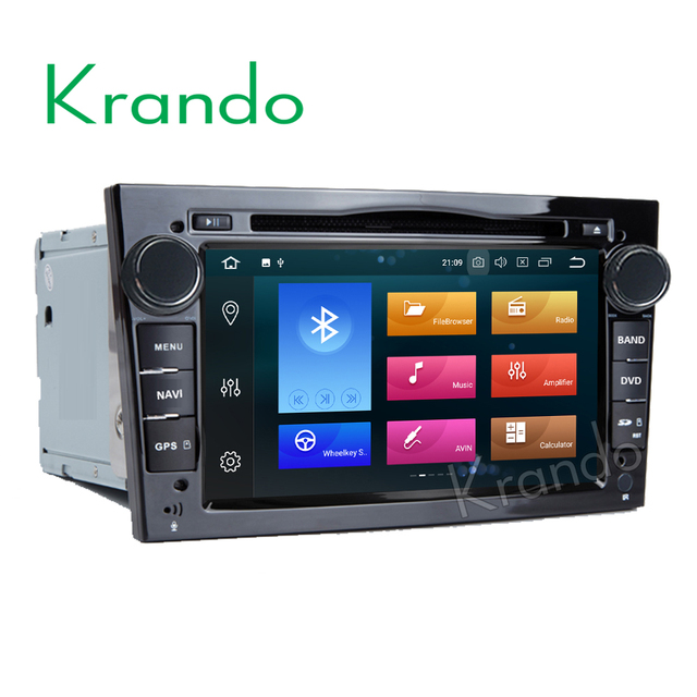 Krando android 8. 0 7'' 32gb rom car radio for opel astra h corsa.