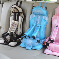 0 5 Years Old Kids Safe Seat Portable Baby Safety Seat Children's Chairs Updated Version Thickening Sponge Kids Child Car Seats