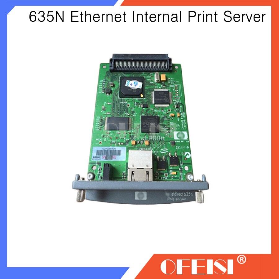 95% nouvelle carte réseau de serveur d'impression interne Ethernet JetDirect 635N J7961G et imprimante de traceur DesignJet