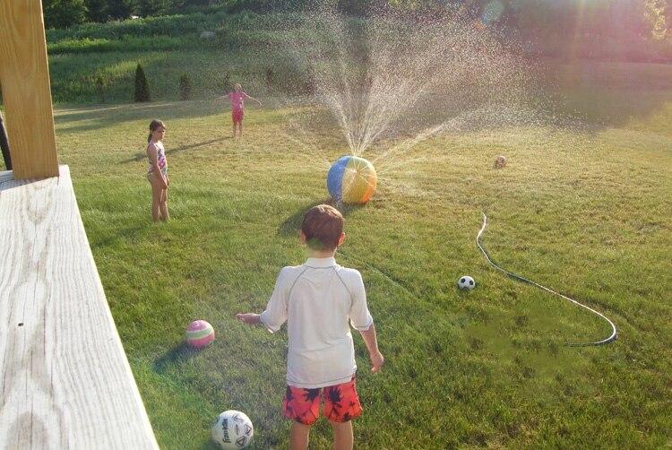Beach ball sprinkler 1