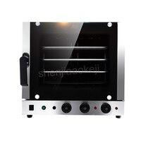 Автоматическая Нержавеющаясталь 4 лотки горячий конвекции воздуха кухня духовка электрическая духовка коммерческих 60l 220 В 4500 Вт