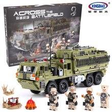 XINGBAO 06014 Militaire Serie Le Scorpion Lourd Camion Ensemble Veritable 1377 PCS Blocs de Construction Briques garcons filles