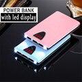 new 3 USB Powerbank For SAMSUNG LED power bank 10000mah backup Power Bank external battery For xiaomi iPhone Backup power