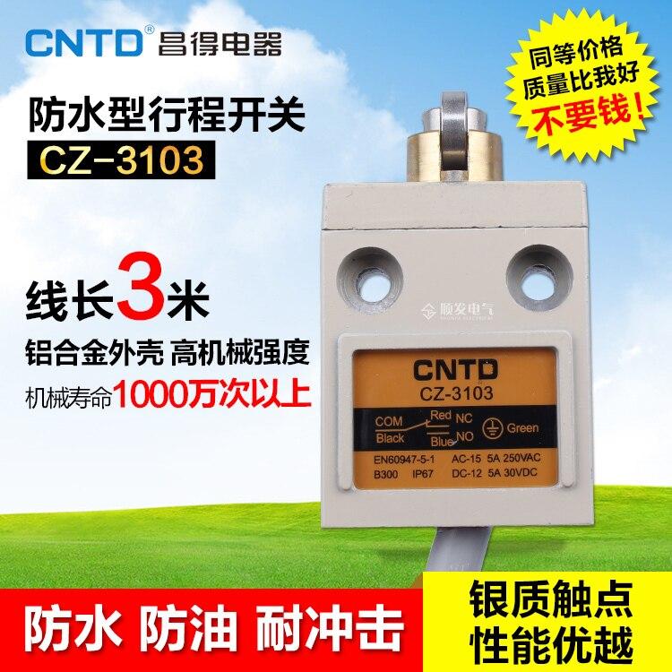 HWEXPRESS  TZ CZ-3103 Waterproof Defence Oil Stroke Switch Fretting Limit Switch   IP67 smile mc 3103