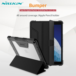 For iPad Air 2019 Case For iPad Pro 10.5 Cover NILLKIN Smart Wake UP Flip Cases For iPad Air 2019 Pro 10.5 With Screen Protector
