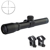 2x20 Long Eye Exit Pupil Rifle Scopes Scout Gun Scope Sight Tactical Relief Hunting Scopes