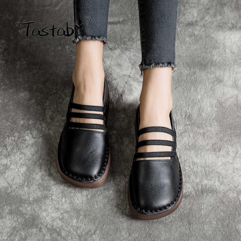 Son Lógica Continuar Zapatos De Cuero Para Mujer Vástago Vegetación Minúsculo
