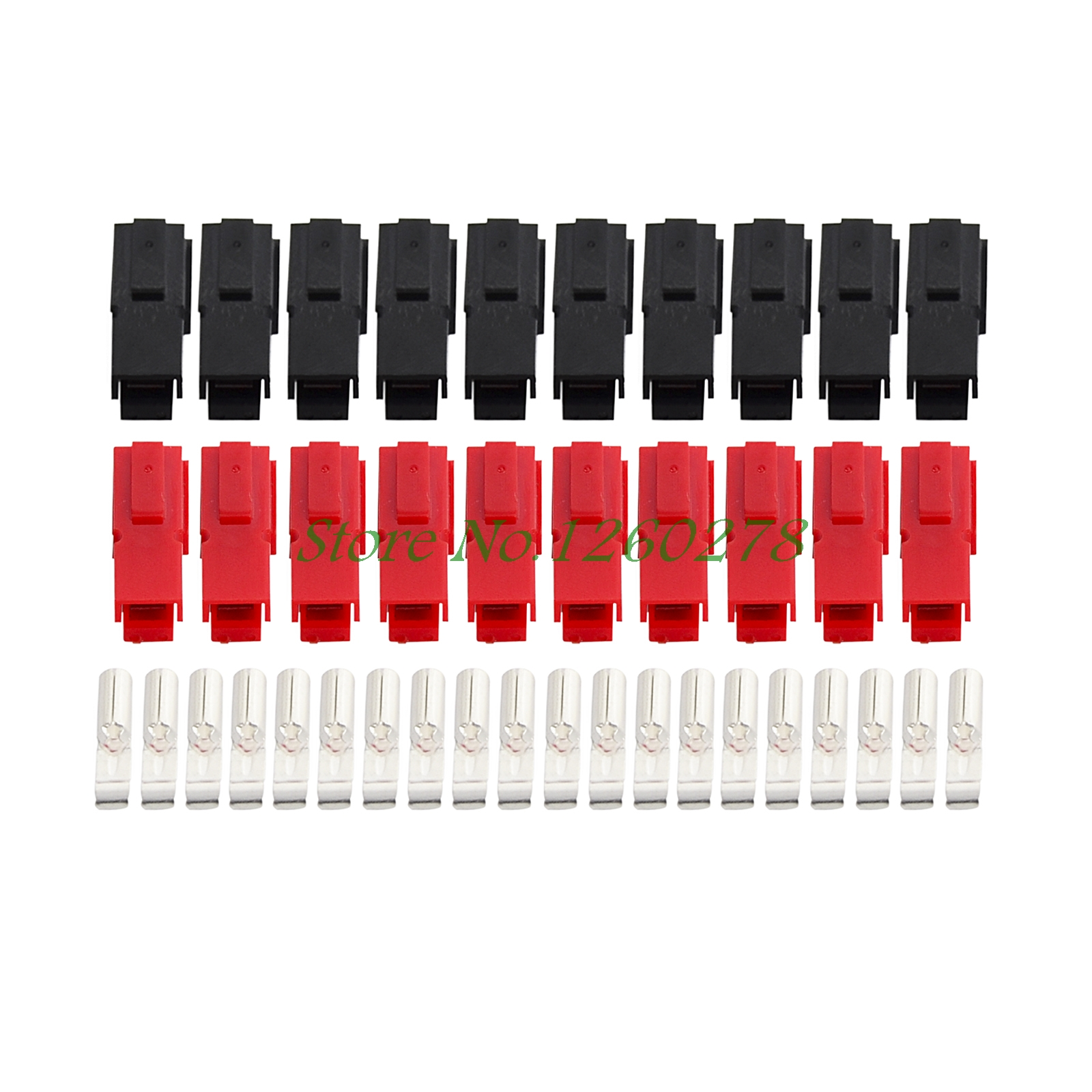 10 Pairs 30A Amp 600V Power Marine Connector Pole Red Black For Anderson Powerpole mikado temptation pole 600