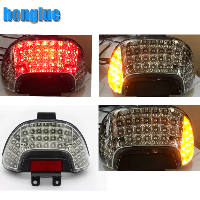 Motorcycles Accesories For HONDA DIOZX AF34/AF35 LED Motorcycle scooter LED taillight assembly brake light assembly