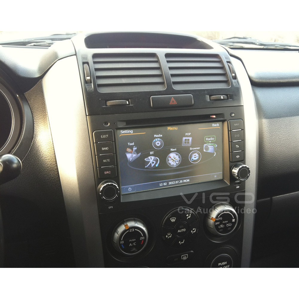 car stereo gps navigation for suzuki grand vitara 2005. Black Bedroom Furniture Sets. Home Design Ideas