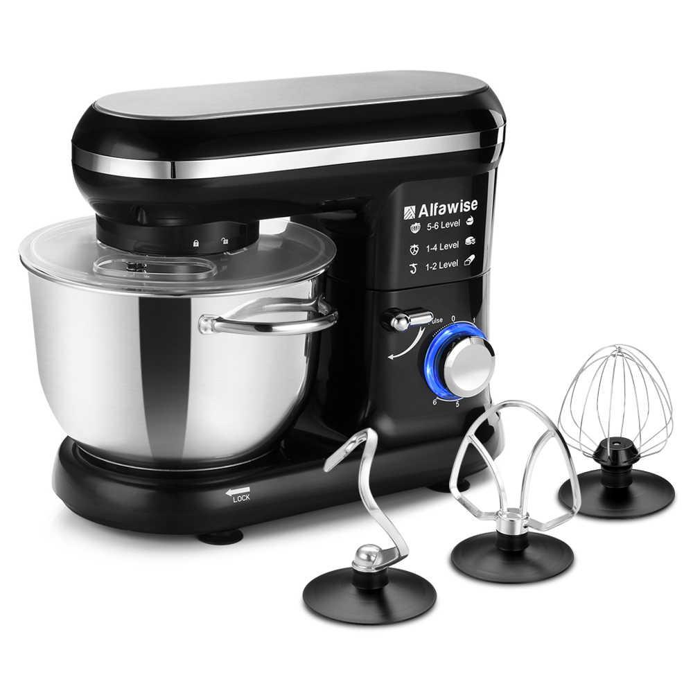 Mais novo 600 w misturador de massa pão elétrico ovos liquidificador cozinha suporte milkshake alimentos/bolo misturador amassar máquina massa fabricante z20