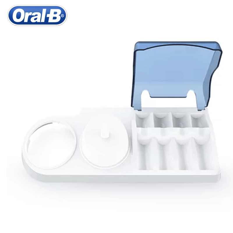 Oral B футляр для электрической зубной щетки для Электрические зубные щётки поддержка зубы кисточки Головы чехол шапки (не включает Электрическая зубная щётка)