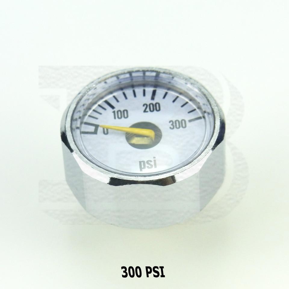 Aliexpresscom Beli New Paintball Pcp Mini Air Pressure Gauge Adapter Sambungan Regulator Manometer Manometre 1 8npt 300psi 1500psi 3000psi 5000psi 6000psi Dari Handal