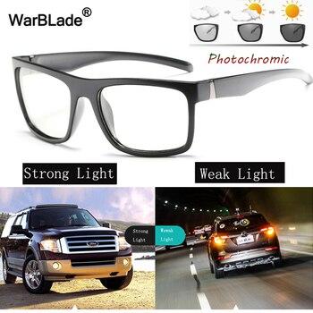 444dacceec Nuevo gafas de sol fotocrómicas inteligentes WarBLade para hombre gafas de sol  polarizadas antideslumbrantes