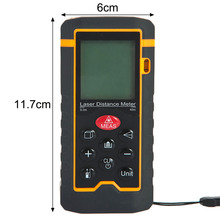 Cheaper Handheld Laser Rangefinder Laser Distance Meter Digital Laser Range Finder Laser Tape Measure Area/Volume Tester Tool HT-40