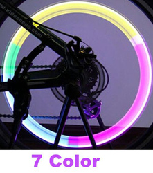 Велосипедный светильник, горная шина для дорожного велосипеда, колпачки для шин, светильник s MTB, спицы, светодиодный велосипедный светильни...