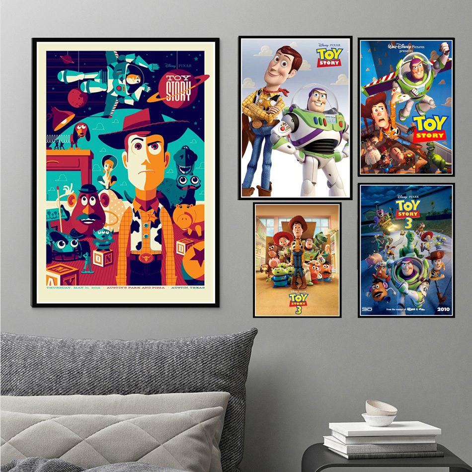 Toy Story 4 Movie Poster Wall Art