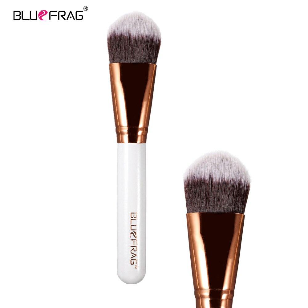 BLUEFRAG Versatile Domed Stippling Brush Duo Fiber  Makeup Brush for Face Cheek Powder Foundation  Blush Makeup Tools BLBR0134