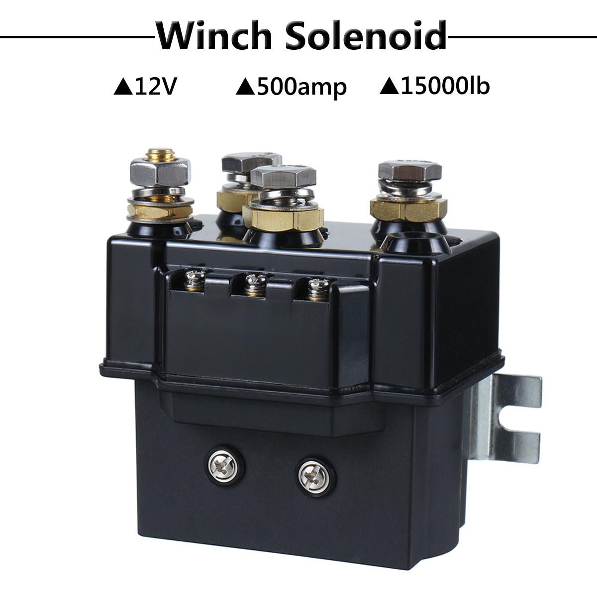Solenoid control box for winches up to 5000lb with wireless controls