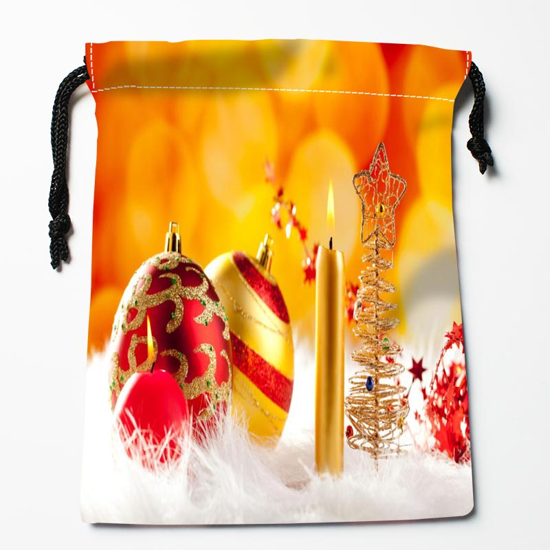 Custom Christmas Candles Bags Custom Printed Gift Bags More Size 27x35cm Compression Type Bags