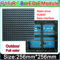 Outdoor full-color P16 LED Display module, DIP P16 led  Module Video ,Graphic, Picture, Text  LED Display Module