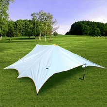 5 Meters * meters waterproof and tear-resistant outdoor awning, 5-8 people canopy awning sunscreen anti-UV beach tent
