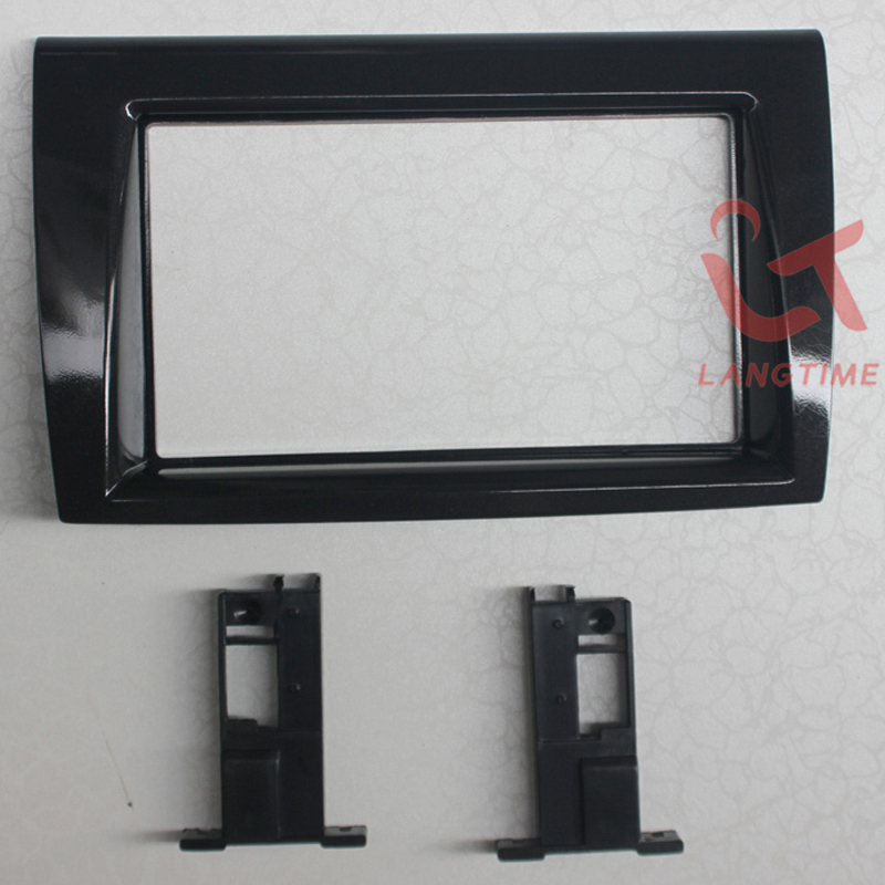 Free shipping-Car refitting DVD frame,DVD panel,Dash Kit,Fascia,Radio Frame for 06 FIAT BRAVO, 2DIN free shipping car refitting dvd frame dvd panel dash kit fascia radio frame audio frame for 2012 kia k3 2din chinese ca1016