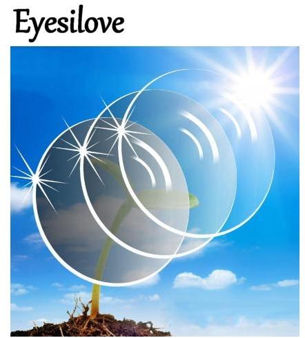 9196adeb2 Eyesilove Personalizado Reações fotossensíveis lentes miopia óculos Lentes  de óculos de Lentes ópticas Lentes de Transição Sensível À Luz