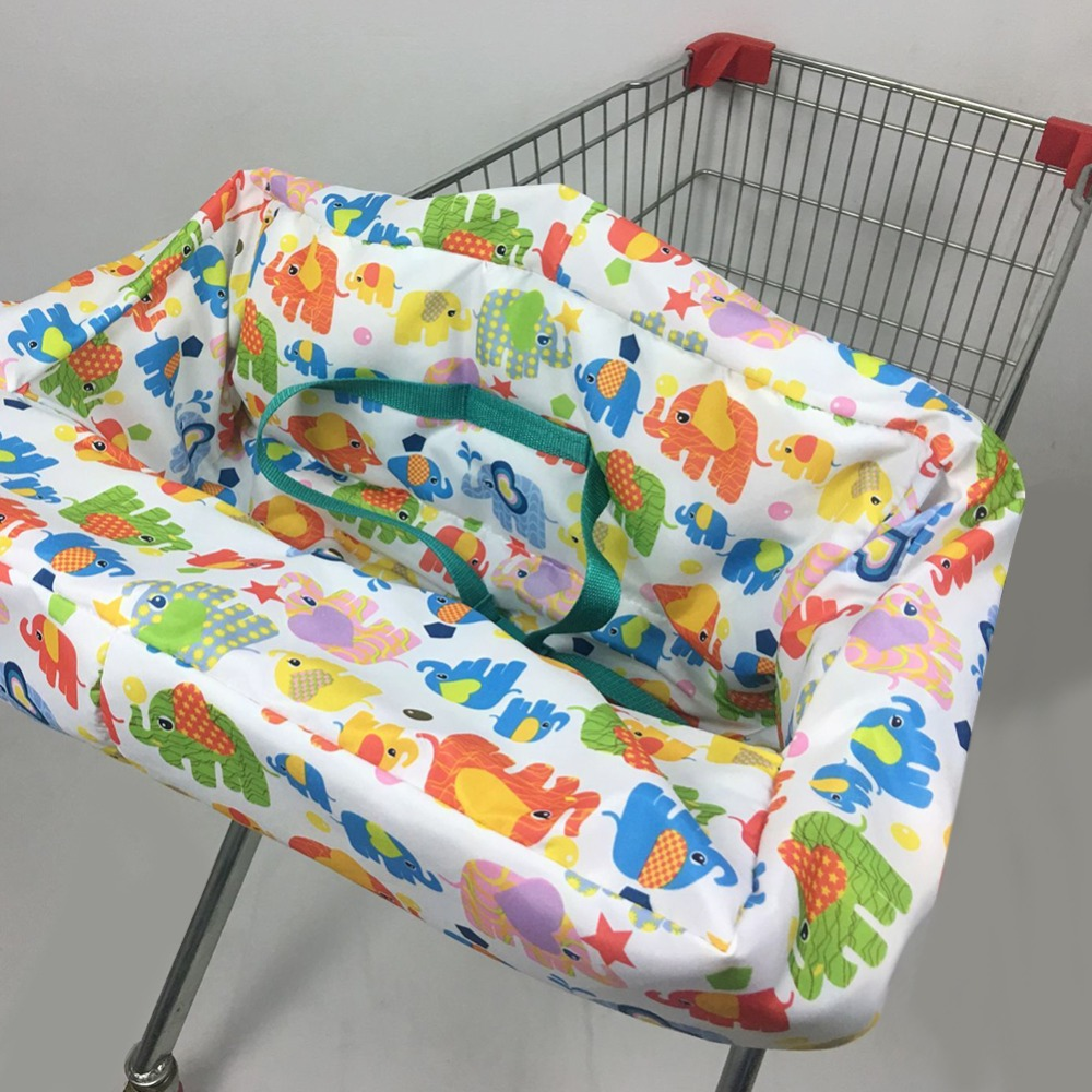 Shopping Cart Cover Protection Baby Supermarket Shopping Bag Infant Chair Cart Seat Cover Reusable Tote Safety Carriage Cover