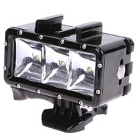 30M Underwater Light Waterproof Diving LED Lamp Kit For GoPro Hero Accessories High Quality