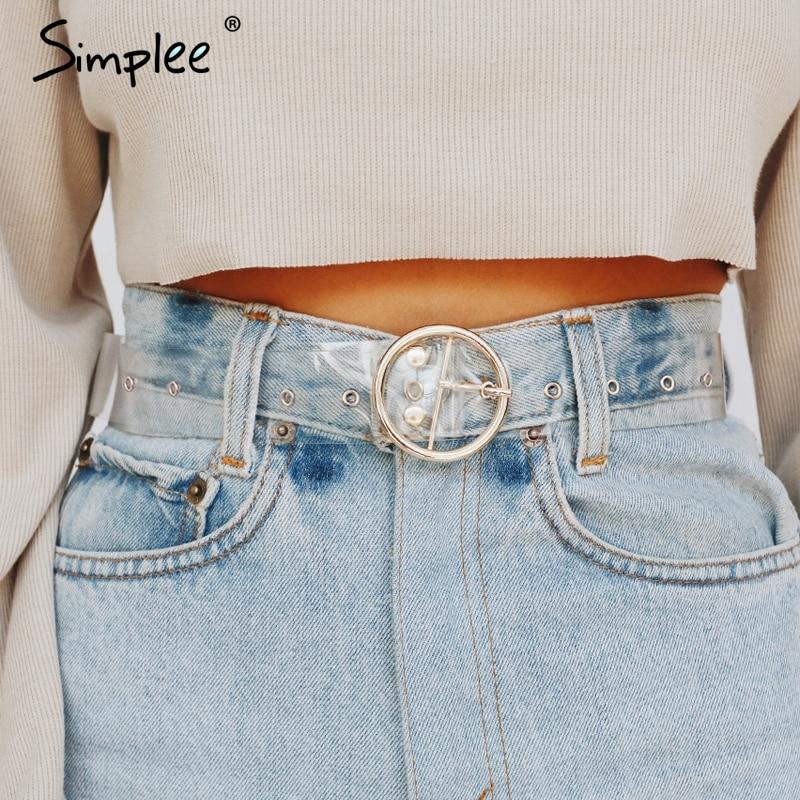New fashion women/'s lace Belt buckle white waist size 28