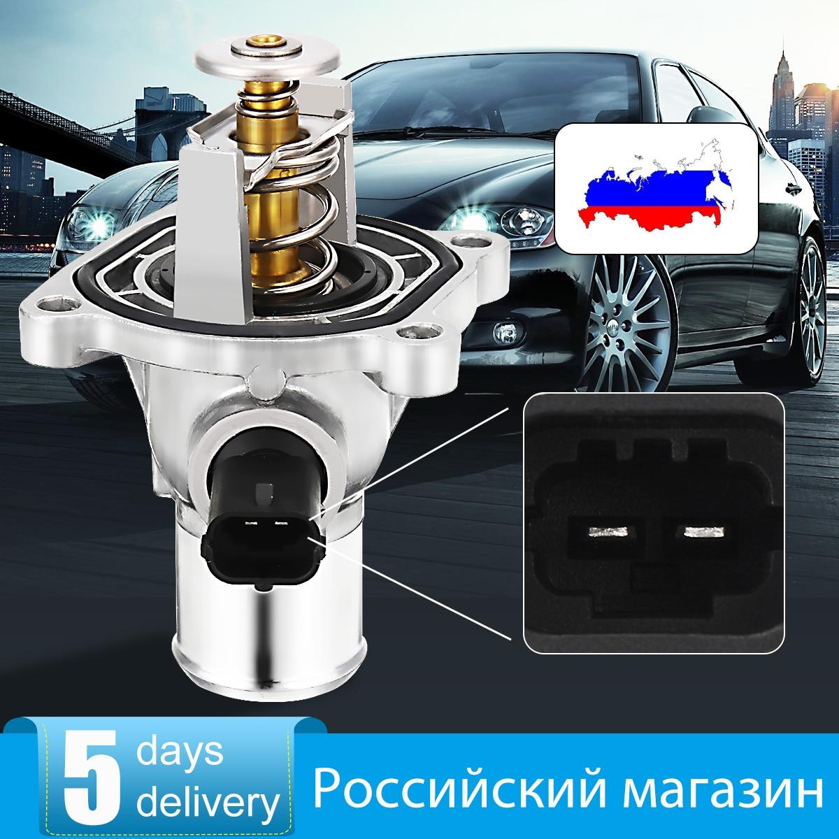 Engine Coolant Thermostat Assembly 96984104 For Chevrolet Cruze Aveo Pontiac 24405922 55577072 Avec Logement Pour Orlando Trax Croma Vauxhall Opel Astra