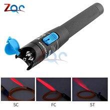 Портативный красный светильник лазерный волоконно-оптический 1 мВт 5 км источник тестовая ручка Визуальный дефектоскоп Волоконно-оптический кабель 1 мВт 3-5 км тестовый инструмент er
