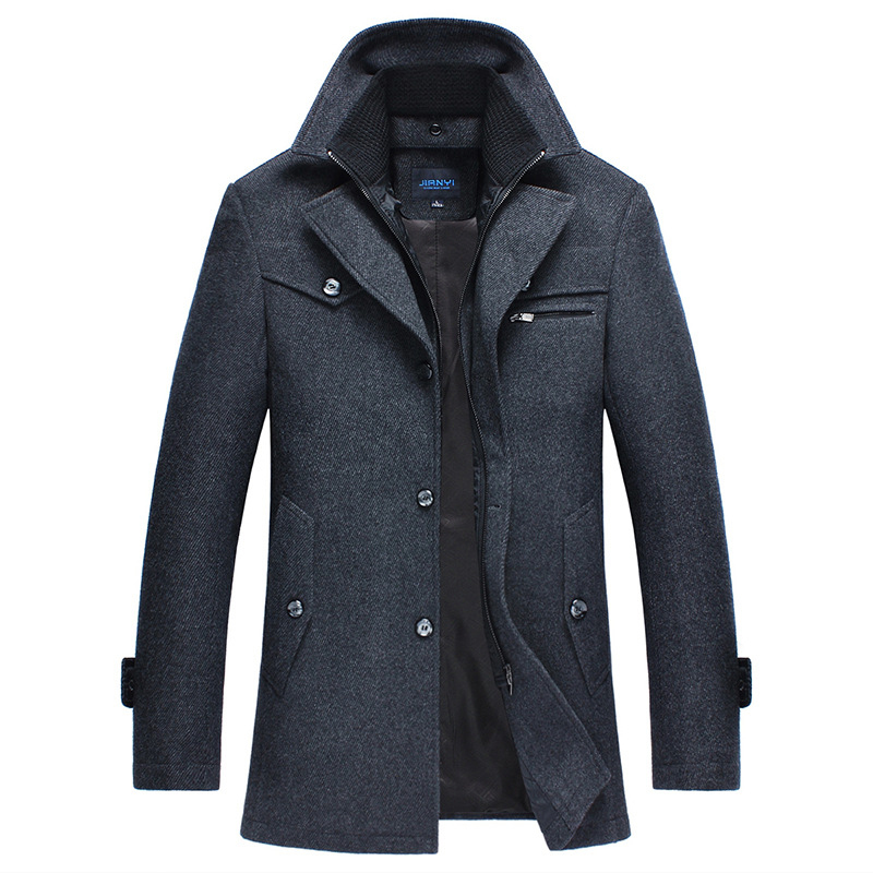 Sales Fiery Autumn Winter New Medium Length Men Wo...